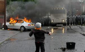 There was more civil unrest this year in the Ardoyne area of Belfast after a contentious Twelfth parade
