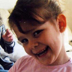 Gabrielle Grady, five, was in the car when her father Christopher Grady drove it into a freezing river