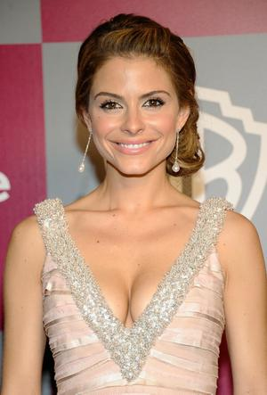 BEVERLY HILLS, CA - JANUARY 16:  TV personality Maria Menounos arrives at the 2011 InStyle And Warner Bros. 68th Annual Golden Globe Awards post-party held at The Beverly Hilton hotel on January 16, 2011 in Beverly Hills, California.  (Photo by Kevork Djansezian/Getty Images)