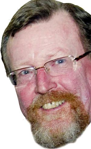 David Trimble grins and beards it