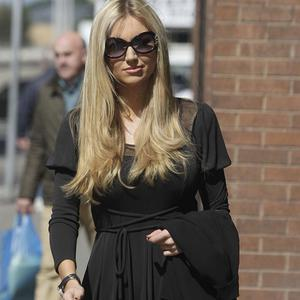 Rosanna Davison arrives at Dublin's High Court where the former Miss World was awarded 80,000 euro after suing Ryanair for defamation