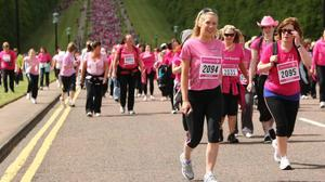 Race for Life 2010  in the grounds of Stormont Estate