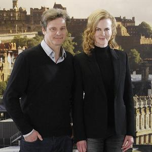 Colin Firth shares the screen with Nicole Kidman in The Railway Man