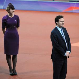 Chancellor George Osborne was booed when he presented medals during the Paralympic Games