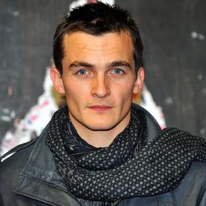 Writer and director Rupert Friend was without his girlfriend Keira Knightley at the premiere of his short film because she was ill