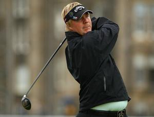 Ross McGowan at The Open. July 2010