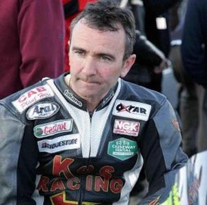 Plans to unite memorials for Robert Dunlop, pictured, and his brother Joey have split their family