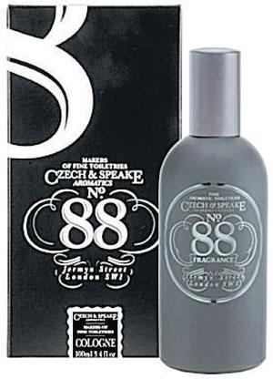 <b>No 88 Czech & Speake</b><br/>  Here's the signature scent from Czech & Speake, a truly English smell. It's a complex mix of bergamot and geranium with base notes of sandlewood and vetiver. A sensual fragrance that's great to wear in the daytime.<br/>  <b>Where</b> Carter and Bond (www.carterandbond.com) <br/>  <b>How much</b> £65 (100ml)