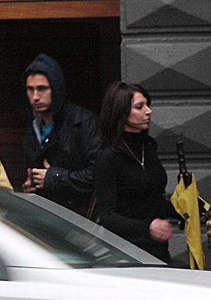 Frank Lampard in Belfast with his Ulster girlfriend Christine Bleakley