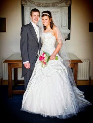 "Joanne and Andrew Wills after their marriage in Dromara <p><b>To send us your Wedding Pics <a  href=""http://www.belfasttelegraph.co.uk/usersubmission/the-belfast-telegraph-wants-to-hear-from-you-13927437.html"" title=""Click here to send your pics to Belfast Telegraph"">Click here</a> </a></p></b>"