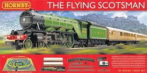 <b>2} HORNBY FLYING SCOTSMAN SET </b><br/> Recreate the golden era of train travel in the 1930s when the two great railway rivals, LNER and the LMS, vied for the lucrative passenger traffic between London and Scotland. For kids who love trains, it's the ultimate set. <b>£140, hornby.com</b>