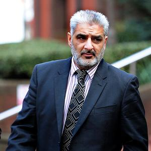 Tariq Jahan is accused of causing GBH during an alleged road rage incident