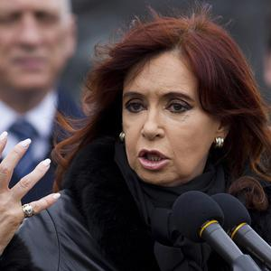 Argentina's President Cristina Fernandez said Britain's stance over the Falklands was 'ridiculous and absurd' (AP)