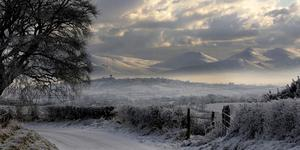 CS Lewis's icy world evoked in the Mournes as more snow is forecast. By Paul Byrne