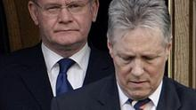 Peter Robinson and Martin McGuinness are to consider who will become justice minister