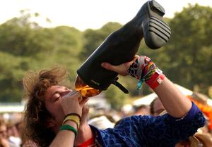 You frequented a country park or wasteground each weekend to drink alchohol