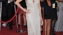Straight and simple:  Berenice Bejo at the SAG Awards in Hollywood