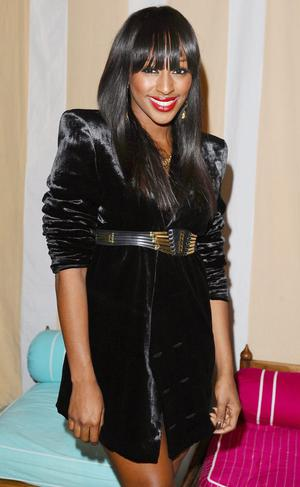 Alexandra Burke at the aftershow party for new film Sex And The City 2 at the Orangery in London.
