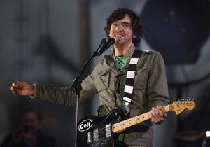 BELFAST, NORTHERN IRELAND - NOVEMBER 05:  Gary Lightbody of Snow Patrol performs on stage during a rehearsal prior to the MTV Europe Music Awards 2011  at City Hall on November 5, 2011 in Belfast, Northern Ireland.  (Photo by Andreas Rentz/Getty Images)