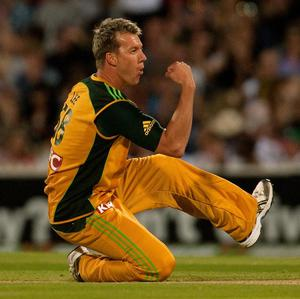 Australia's Pat Cummins was pleased to be sharing new ball duties with Brett Lee (pictured) against Ireland