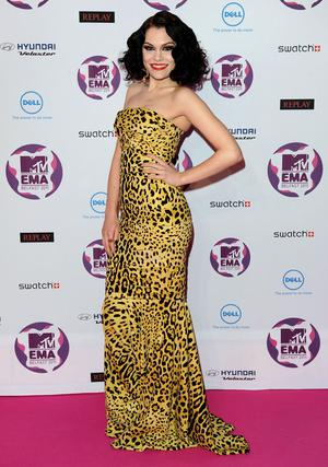 BELFAST, NORTHERN IRELAND - NOVEMBER 06:  Singer Jessie J attends the MTV Europe Music Awards 2011 at the Odyssey Arena on November 6, 2011 in Belfast, Northern Ireland.  (Photo by Ian Gavan/Getty Images)