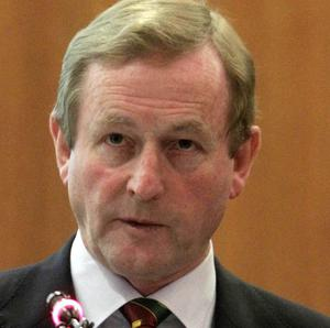 Enda Kenny has hinted at progress in negotiations over a cheaper rescue package
