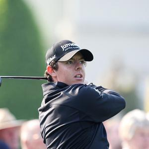 Rory McIlroy crashed out on 10 over after a round of 73