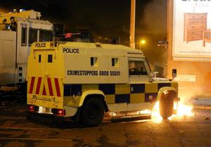 Demonstrations and unrest in the Village area of south Belfast