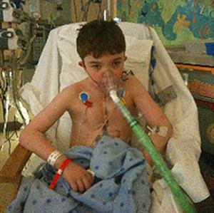 Ciaran Finn-Lynch was the recipient of the world's first child stem cell-supported tracheal transplant