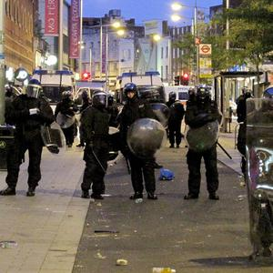 The Prime Minister responded to senior police officers, who said it was their decision to increase police numbers during the riots
