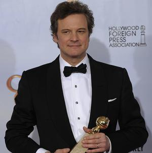 Colin Firth won the Golden Globe for best actor for his role in The King's Speech