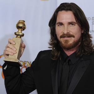 Christian Bale took home the best supporting actor Golden Globe for his role in The Fighter
