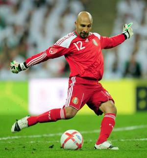 """<b>Oscar Perez (Mexico)</b><br/> England fans have already had a glimpse of the Mexico stopper during the recent friendly. Yet if fans were sitting in Row Z, they might not have seen him. At just 5'7"""", Perez will be the shortest keeper on show. How he fares against the height of Peter Crouch or the strength of Didier Drogba could be entertaining."""