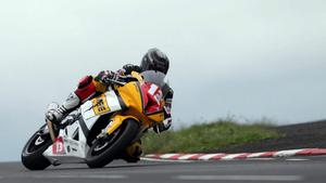North West 200 practice night 17th May 2011.Superbike practice session.Adrian Archibald.