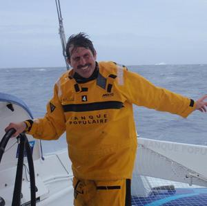Brian Thompson is close to breaking the world record for the fastest circumnavigation of the globe (BPCE)