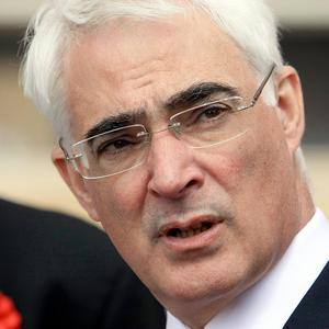 Former chancellor Alistair Darling, who led negotiations over the RBS bailout, said the treatment of Fred Goodwin was 'tawdry'