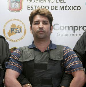 Drug cartel leader Oscar Osvaldo Garcia Montoya has reportedly confessed to his links to over 600 murders in Mexico (AP)