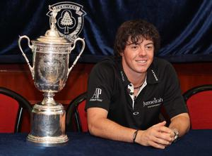US Open champion Rory McIlroy returns home to Holywood Golf Club, Co. Down