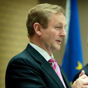 Enda Kenny has urged European leaders to take tough decisions to rescue the eurozone from debt crisis
