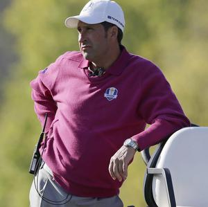 Jose Maria Olazabal's side trailed 5-3 after the opening day (AP)
