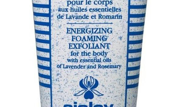 Energizing foaming exfoliant £68, Sisley, johnlewis.com Essential oils of lavender and rosemary will revive the senses in a more relaxing way than caffeine. Massaging the micro-beads into wet skin surely counts as calorie-burning activity.