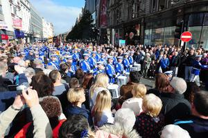 Thousands took part in commemorations in Belfast to mark 100 years since the signing of the Ulster Covenant
