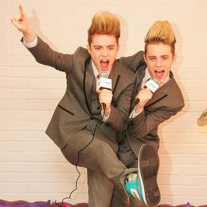 John and Edward Grimes have to stay five metres apart