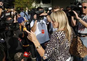 Clare Staples, a neighbor of actress Brittany Murphy, tells media she saw paramedics working on Murphy and that she appeared deceased as they removed her from her home in Los Angeles on Sunday, Dec. 20, 2009