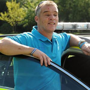 Pc David Rathband was blinded in an attack by gunman Raoul Moat