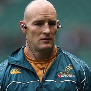 Stirling Mortlock's final game in Australia ended in defeat