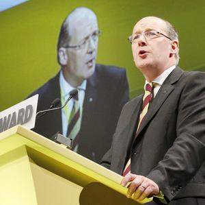 MSP John Swinney has backed plans to give EU nationals living in Scotland a vote in the independence referendum