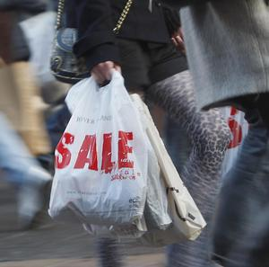 Consumer confidence fell sharply during April, figures show