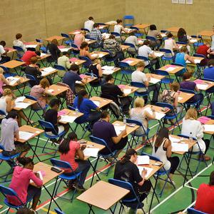 Sixth-formers have been set a second 'impossible' exam question, it has been revealed