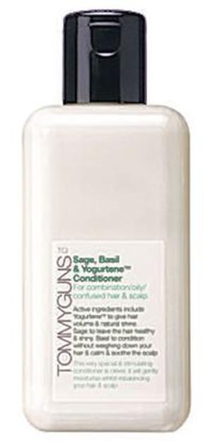 <b>Tommy Guns Hair Conditioner</b><br/>  This conditioner gently moisturises your hair while re-balancing your scalp and includes healthy-sounding ingredients like sage and basil.<br/>  <b>Where John Lewis (www.johnlewis.co.uk) </b><br/>  <b>How much </b>£4.99 (100ml)